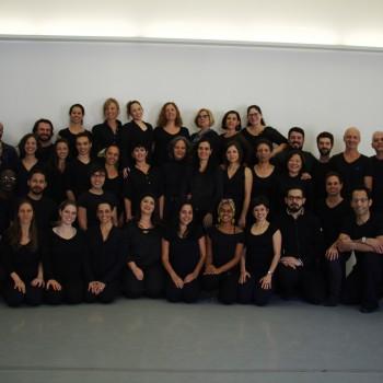 Equipe da Escola de Dança de São Paulo