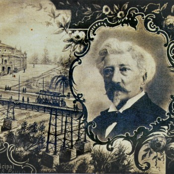 Jules Martin (1832-1906), idealizador do Viaduto do Chá