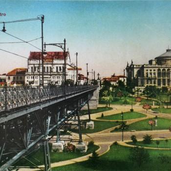 Viaduto do Chá e Theatro Municipal