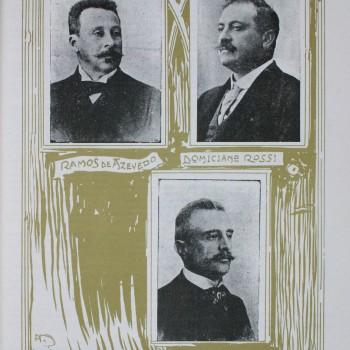 Ramos de Azevedo, Domiziano Rossi e Claudio Rossi, 1911 (Ilustração Paulista)