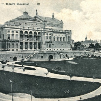 Vale do Anhangabaú e Theatro Municipal