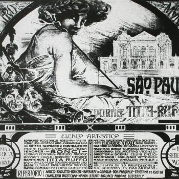 Cartaz da temporada de estreia, 1911