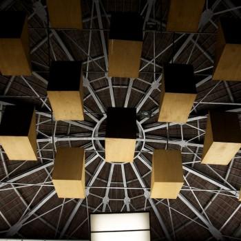 Cúpula do Theatro Municipal de São Paulo (Foto: Ricardo Kleine)