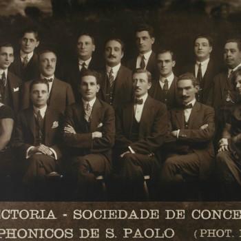 Diretoria da Sociedade de Concertos Sinfônicos de São Paulo (Acervo Theatro Municipal)