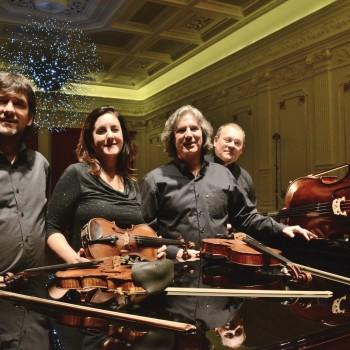 Quarteto da Cidade (Foto: Gabriel Novaes)