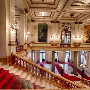 Hall do Theatro Municipal de São Paulo (Foto: Ricardo Kleine)