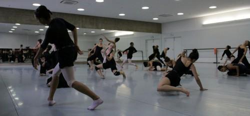 Alunos da Escola de Dança (Foto: Desirée Furoni)