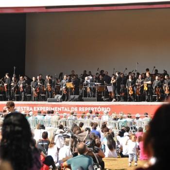 Orquestra Experimental de Repertório no Parque Ibirapuera (Foto: Diego Guerra)