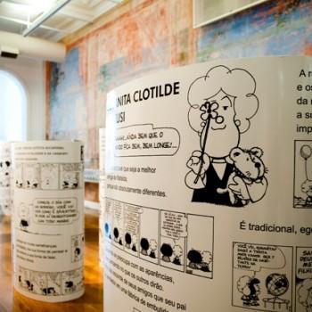 O Mundo Segundo Mafalda. Foto: Sylvia Masini