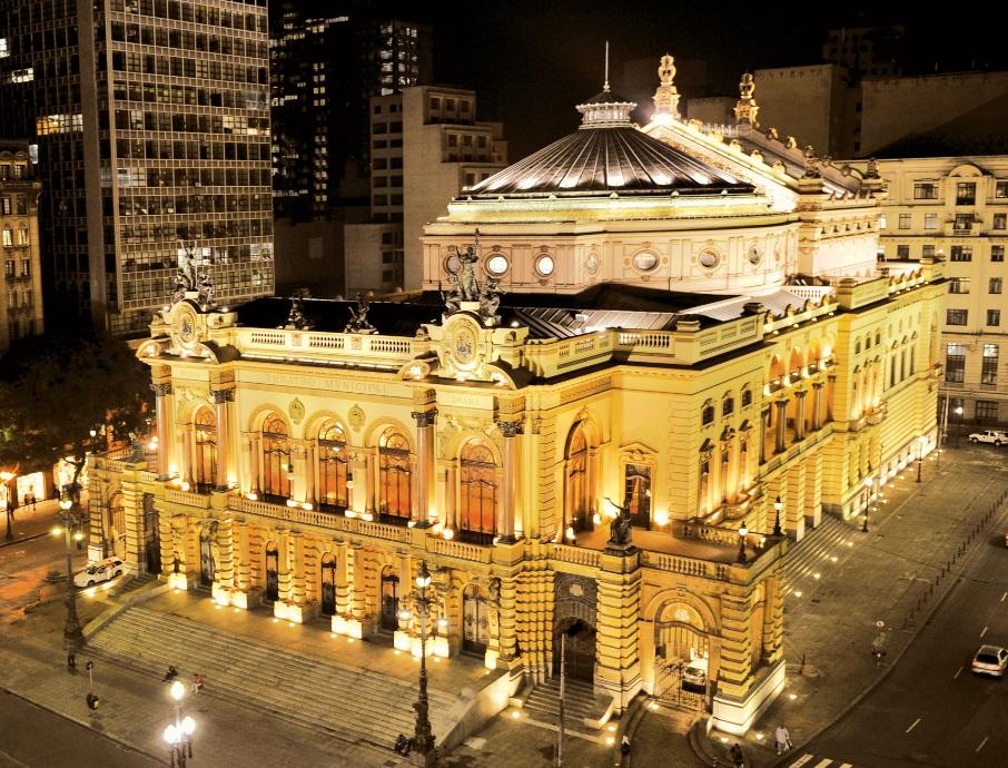 Imagem do Teatro Municipal de São Paulo - image by theatromunicipal.org.br