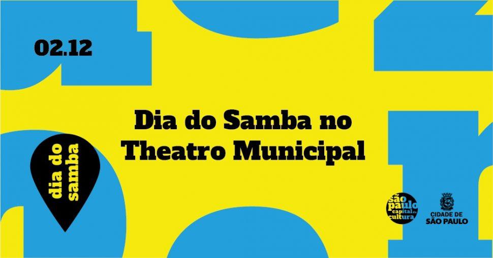 Resultado de imagem para dia do samba teatro municipal de sp